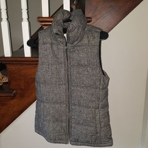 Old Navy XS grey heathered vest